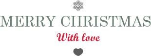 Merry Christmas - with love