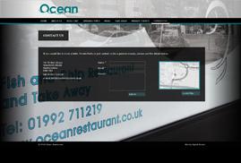 Ocean Website - Contact Us