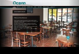 Ocean Website - Home